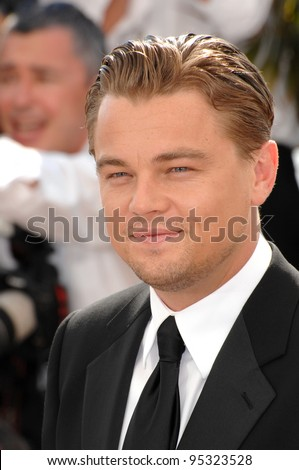 "Leonardo DiCaprio at photocall for his movie ""The 11th Hour"" at the 60th Annual International Film Festival de Cannes.  May 19, 2007  Cannes, France.  2007 Paul Smith / Featureflash"