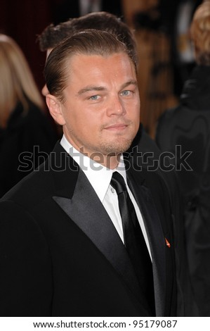 Leonardo DiCaprio at the 79th Annual Academy Awards at the Kodak Theatre, Hollywood. February 26, 2007  Los Angeles, CA Picture: Paul Smith / Featureflash
