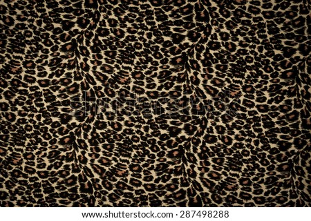 Leopard background - stock photo