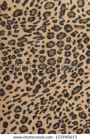 leopard fabric texture