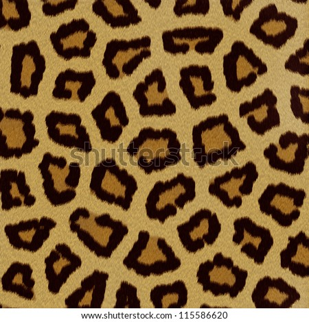 Leopard fur (skin) background or texture