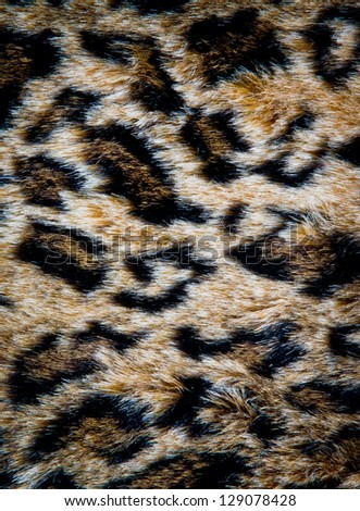 leopard leather texture with black and pink colors - stock photo