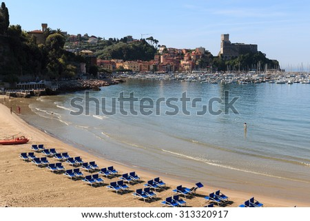 Lerici Beach - Liguria