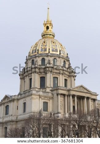 Les Invalides, Paris, France - stock photo