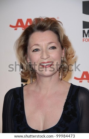Leslie Manville at AARP Magazine's Movies For Grownups, Beverly Wilshire Hotel, Bevely Hills, CA. 02-07-11