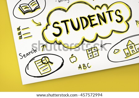 Lesson Training Study Knowledge Learning Concept - stock photo