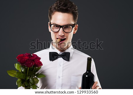 Let's celebrate! - stock photo