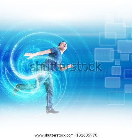 Let Your Energy Shine - stock photo