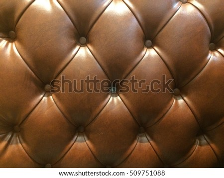 Lether sofa texture