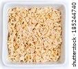 Letter pasta - stock photo