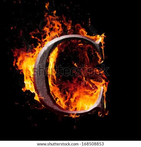 Letters symbols fire letter c stock illustration 168508853 letters and symbols in fire letter c thecheapjerseys Images