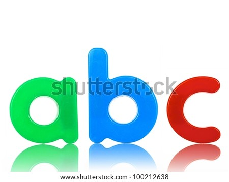 Letters of the alphabet - stock photo