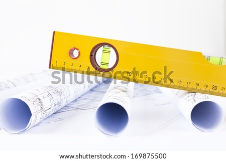 level and architectural drawings