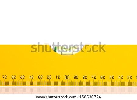 Level close up - stock photo