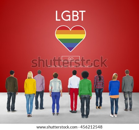 LGBT Community Sexual Rights Equality Concept - stock photo