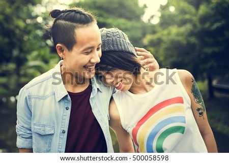 Lesbian Stock Photos, Royalty-Free Images & Vectors