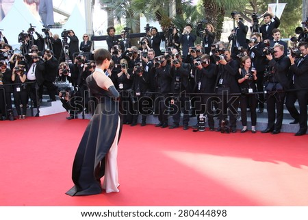 Li Yuchun attends the 'Little Prince' Premiere during the 68th annual Cannes Film Festival on May 22, 2015 in Cannes, France.