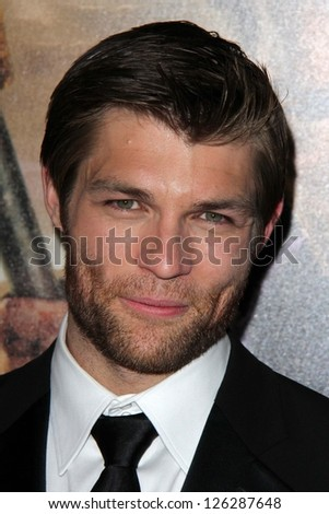 "Liam McIntyre at the ""Spartacus: War Of The Damned"" Los Angeles Premiere, Regal Cinemas, Los Angeles, CA 01-22-13"