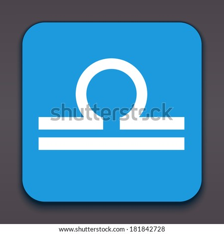 Libra. Horoscope signs/symbols. Other signs are represented in the my portfolio. - stock photo