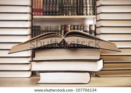 library - stock photo