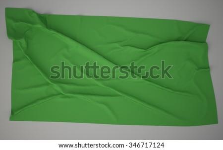 Libya Flag - stock photo