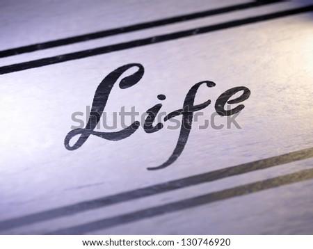 Life - stock photo