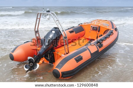 Life boat - stock photo
