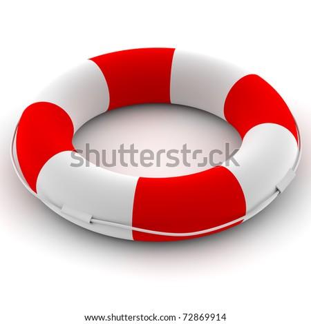 Life buoy - stock photo