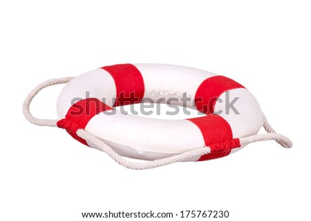 life buoy isolated