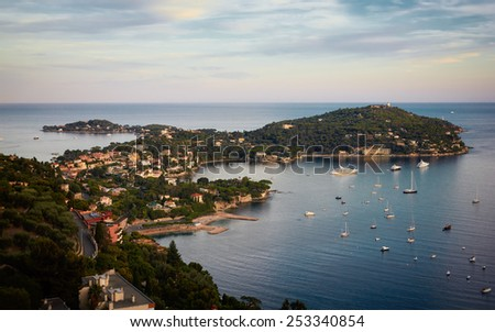 Life in Principality of Monaco shall. Aerial view.  - stock photo