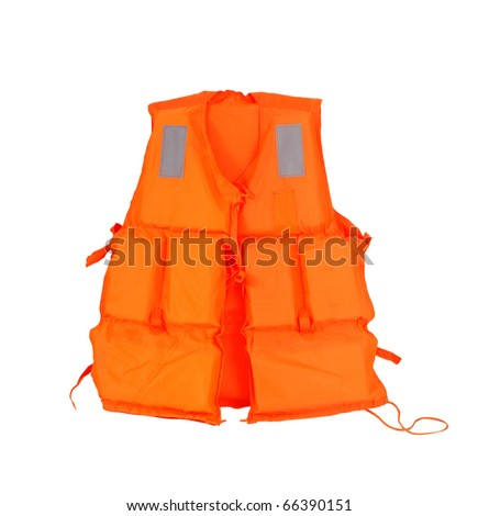 Life jacket. - stock photo