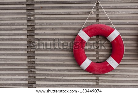 Life Ring - stock photo