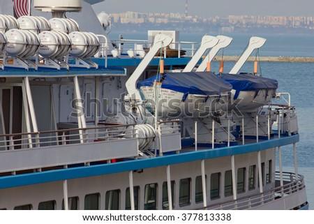 Lifeboat - stock photo