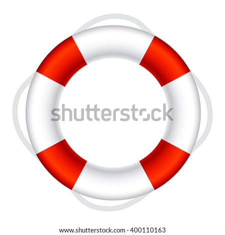 Lifebuoy Sign Symbol Illustration