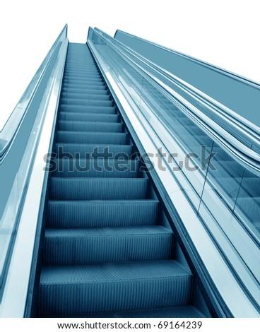 Lift isolated on white background - stock photo