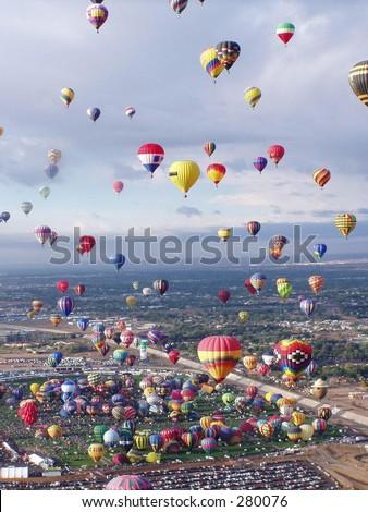 Liftoff! - stock photo