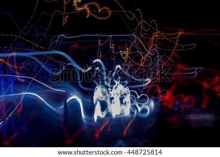 light abstract 13 - stock photo