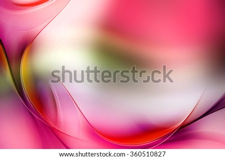 Light Abstract Colorful Waves Background
