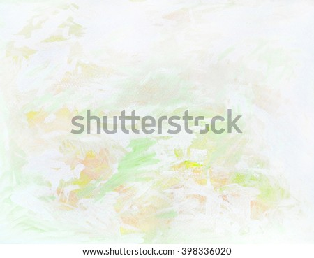 light abstract painting for interior, illustration - stock photo
