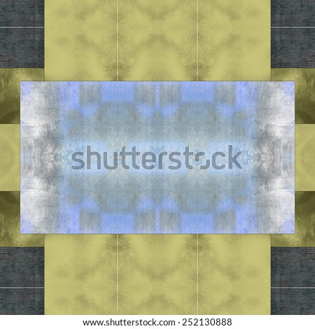 light and dark brown beige and green report cover background with texture, grunge, soft lighting, graphic art design layout, blank text box image, abstract rectangle background blocks - stock photo