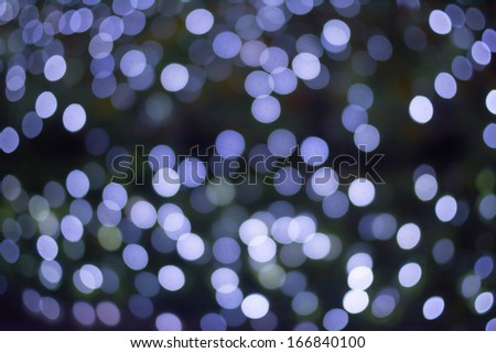 Light as a sphere.Looks like snow.  - stock photo