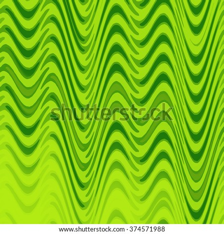 light background with green waves