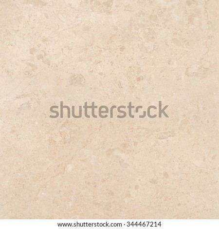 Light beige marble with natural stone texture background. Approximately 2 by 2 foot area. - stock photo