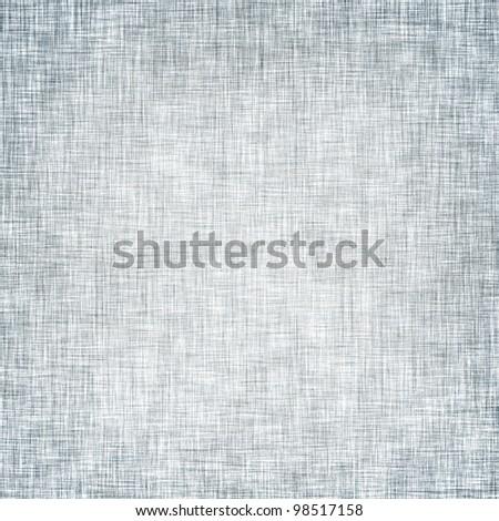 light blue canvas texture background - stock photo