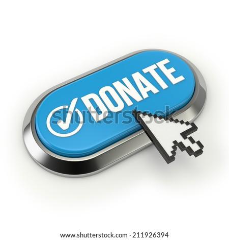 Donate Button Blue Stock Photos, Images, & Pictures ... Blue Donate Now Button
