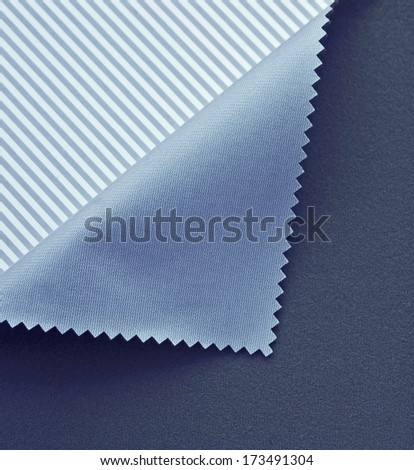 Light blue double face textile polyester  - stock photo