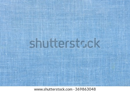 Light blue fabric shot from close background - stock photo