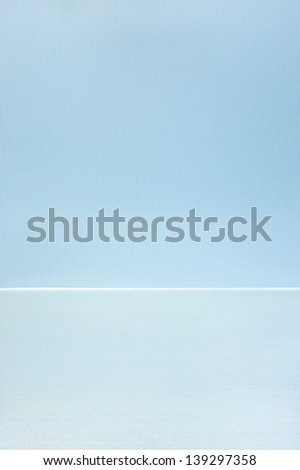 light blue glass background - stock photo