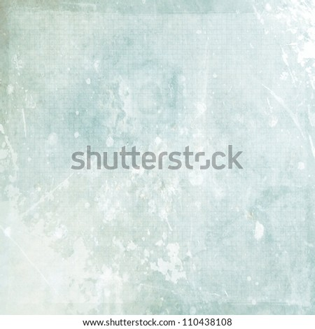 light blue grunge background paper texture - stock photo