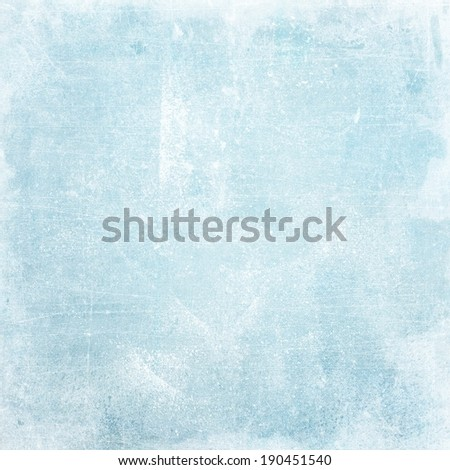 light blue grunge background texture paper - stock photo